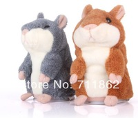 free shippig   Talking Hamster Pet Speaking Hamster Repeat Mouse Electronic&Interactive Plush Stuffed Toys