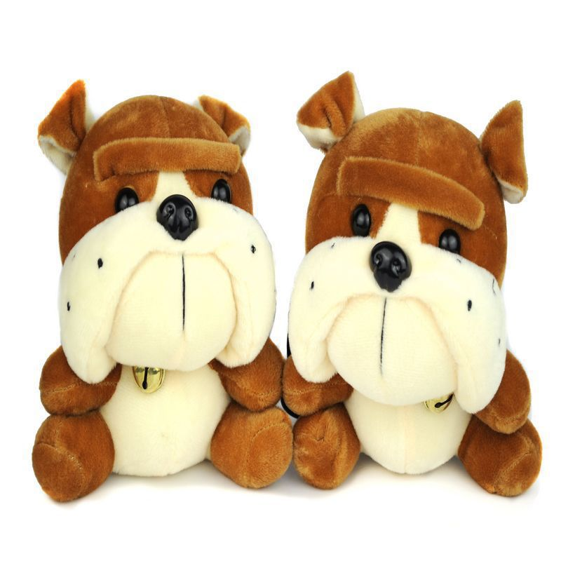 One Pair Cute Cartoon Plush Toy SharPei Portable Audio Player Mini Phone PC Laptop Speakers Music Speakers MP3 Speakers(China (Mainland))
