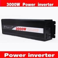 HOT SALE!! 3000W Off Inverter Pure Sine Wave Inverter DC24V to 120V  60HZ input, Wind Solar Power Inverter