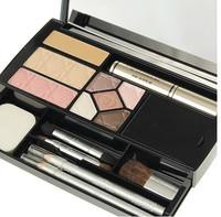 Make-up box travel suit pressed powder concealer five lip gloss eyelash cream color eye shadow eyeliner, eyebrow pencil gift set