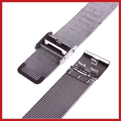 Bidlook New aço inoxidável assista malha pulseiras Strap perfeito artesanato banda Worldwide grátis frete(China (Mainland))
