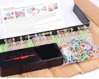 100set/lot  loom kits rubber bands loom kit DIY bracelets making kit Christmas gift birthday present