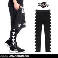 Hi-fashion 2014 Pyrex Men's Fahion Hip-hop Pants PYREX triangle Casual Leggings Elastic Lovers of Trousers Hood by Air