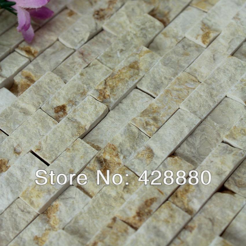 Pedra Natural mosaico de azulejos da cozinha backsplash azulejos do banheiro parede subway azulejos espelho SGS06-1 3d piso de mármore projetos(China (Mainland))