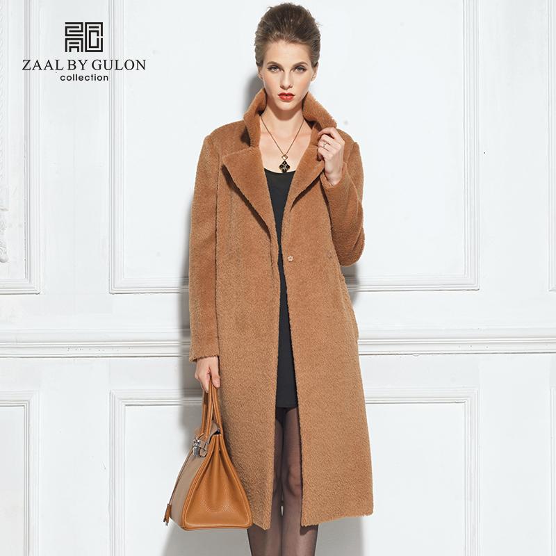 Альпака пальто мода верхняя одежда