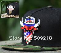 New Arrival fashion three-dimensional logo bull bulls wire gongsta baseball cap bboy adjustable hip hop hat