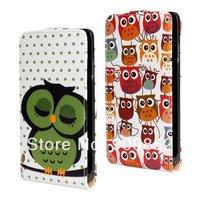 For LG Optimus L9 II Case, Night Owl Cover Leather case For LG Optimus L9 II, MOQ 1pcs,free shipping