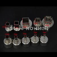 Free shipping 10pcs/set Universal BGA Nozzle BGA Nozzles HOT AIR GUN soldering station for SAIKE ATTEN 852D+ 850 909D 950