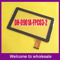 original 9 dh-0901a1-fpc03-2 touch screen dh-0902a1-fpc03-02 capacitance screen