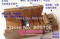Wholesale,The fouths generation luxury cut soap dispenser + repair soap + slot cut + line cut  with Level