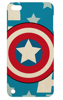 NEW Super hero case hard back cover for ipod touch 5 5th 1pc+free shipping