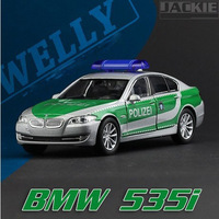 Free shipping Welly 1:36 535i the Police car Alloy Car models Toy 4018 www.