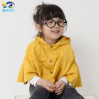 Children's clothing female child autumn cotton trench poncho cape outerwear princess