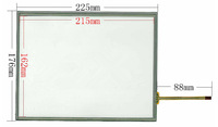 original New 10.4 inch LCD touch panel 225mm*176mm digitizer For Industrial equipment touch screen