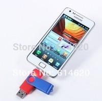 Retail 4GB---16GB  OTG micro usb Smart Phone USB Flash Drives thumb 32g pendrive memory stick u disk for Samsung Free ship