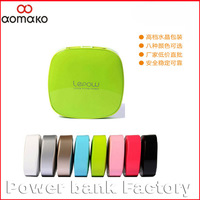 6PC/lot with sweden shipping free multi-color power bank for iphone5 4 for general smartphone W800 lepow power bank 5200MAh