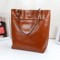 PROMOTION!!! 2014 NEW  Spring fashion Women's/ Ladies' genuine cowhide leather handbag / Tote bag / Vintage bag/ Shopping bag
