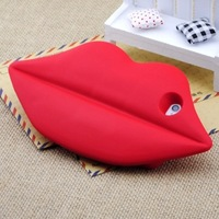 New Funny 3D Marilyn Monroe Sexy Big Mouth/Kiss/Lip Silicon Protective Case For Iphone 5 5G 5S Free shipping