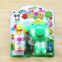 New arrival frog bubble gun bubble toy 3c