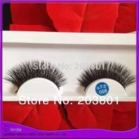 Free Shipping 8 pcs/lot  Eye Lashes Bottom Thick False Eyelashes Makeup 100%real mink lashes