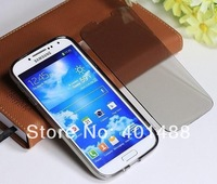Dirt/shock Proof Transparent  Full Body Protective Soft Gel TPU Flip Case for Samsung Galaxy S4 I9500 Free shipping