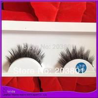 UPS Free Shipping 30Pair/Lot Thick False Eyelashes Mink Eyelash Lashes Voluminous Makeup