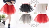 2014 Summer Girls Fluffy Tutu Skirt Dream Organza Kids Tulle Skirts Skirt Solid Color Child Ballet Dance Skirt Pettiskirt