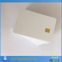 Wholesale ( 50PCS/lot) PVC FM4442 Chip Contact  Blank Smart IC Card For ACR38U SPC/IPC Contact Reader And Free Shipping