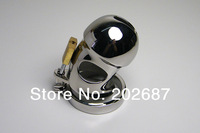 Male Chastity Fetish Cage Bicyclic Stainless Steel Crafts Latest Style Adult Sex Toys Restraint
