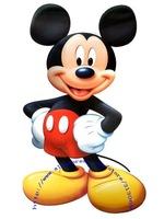 Free shipping , giant size Mickey wall sticker,  wall decals