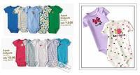 5Pcs/Lot Baby Boys Girls Cartoon Shape Short/Long Sleeve Romper Infant Newborn Jumpsuit Free Shipping