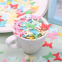 Free Shipping Little Butterfly Shaped Paper Confetti Wedding Decoration/Home Decoration (Random Color)