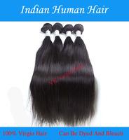 Cheap Indian Straight Hair  Indian Virgin Hairs Bundles 100%  Human Hair Black Queen Hair Products Extension 2Paris/Lots  Good