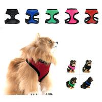 Nylon Comfortable Pet Dog Puppy Control Mesh Harness Soft Walk Collar Safety Strap Vest + Free Shipping