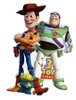 Free shipping , giant size toy story woody wall sticker,  high quality wall decals
