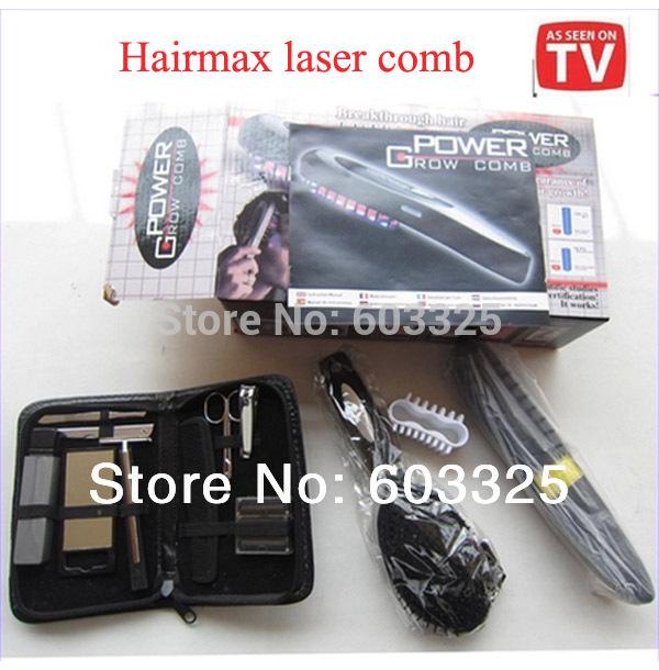 Professional Hair Care Hairmax escova Velform Power Grow Laser Comb cabelo Massager escovas(China (Mainland))