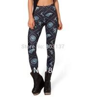 New 2014 Sexy Fashion Pirate Leggins Elastic Leggins Galaxy Pants Digital Print WIN OR DIE HWMF LEGGINGS For Women Hot S106-431