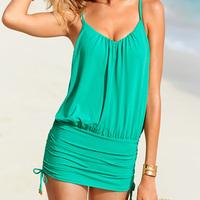 2014 Summer New Solid Bikini Women Swimwear Beach Wear  Two Color S/M/L 3090