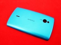 free shipping for sony ericssion Battery Back Cover part   XPERIA Mini Pro SK17i SK17 bluereolacement parts