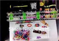 Loom bands Kits Rubber Bands Loom Kit DIY Bracelets best gifts for child 50sets/lot