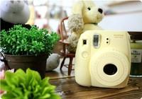 Fujifilm Instax Mini 8 Yellow/ Pink/ Blue/ White/ Black Instant Photo Camera Mini Film camera Free shipping