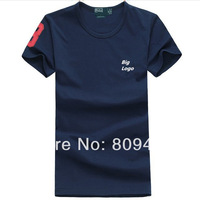 Hot Sale cotton 100%  Parent-child outfit Short Sleeve Custom Fit T-Shirts Men's Brand Shirt 10 Color  Free Shipping