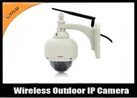 Free shipping  P/T wirless IP Camera 20m IR distance  onvif+P2P  Support
