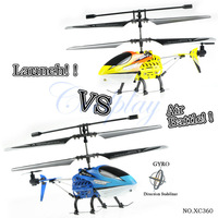 Free Shipping 2pcs/pack JXD 360 battle metal helicopter3.5ch RC model wireless fighting RTF heli with gyro