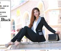 2014 Fashion NEW Slim Ladies Womens Suit Coat Blazer Jacket Button 5 Colors hot sale free shipping