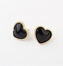 2014 Newest HOT !!! Fashion Lovely Lady Peach Heart Earrings For Women  C7