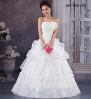 Free Shipping 2014 New Arrival Bridal Wedding Dress,Wedding Gown W0003
