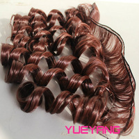 2pcs/lot Doll Wig BJD wigs  high temperature gradient color DIY doll hair