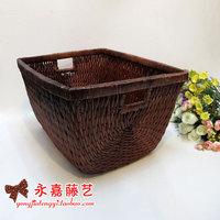 Rattan rattan storage basket storage basket props rattan basket debris basket