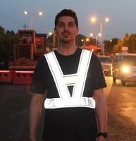 Free shipping 2pcs/lot High Visibility Reflective Vest  Safety Security Vest